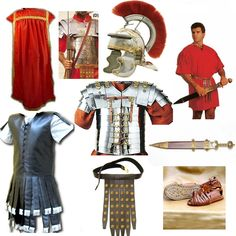 Roman Centurion uniform.