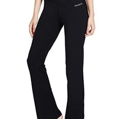 Women's Yoga Bootleg Pants Inner Pocket Soft, stretchy, and sweat-wicking fabric Mini hidden waistband pocket for convenience Elastic waistband for a snug, comfortable fit http://k-dpro.com/product/baleaf-womens-yoga-bootleg-pants-inner-pocket/