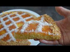 Gâteau semoule fine & noix de coco / كيكة بالسميد و جوز الهند - YouTube Sweet Treats, Cheese, Baking, Ramadan, Tortilla Pie, Breads, Pastries, Food Cakes, Flourless Cake