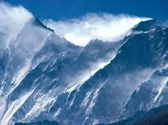 The endlessness of the Himalayan mountains -