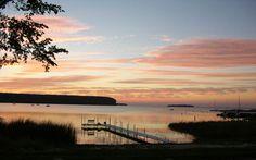 Eagle Harbor Sunset, Nearest Location: Ephraim Wisconsin, Image Credit: Door County Visitor Bureau