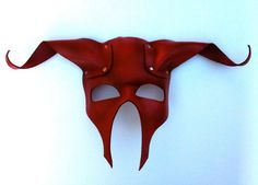 ON SALE Minotaur Leather Mask van mrhydesleather op Etsy The Last Unicorn, Cruise Outfits, Leather Mask, Leather Projects, Masquerade Ball, Erotic Art, Mask Making, Leather Working, Leather Craft