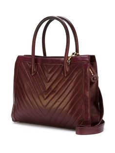 Chanel Vintage chevron quilted tote bag Chanel Vintage f5251a3e22e9a