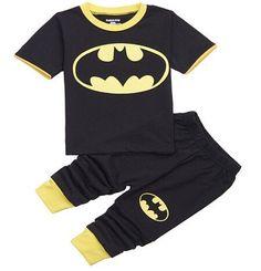 Batman Trouser Pajama Set for Boys
