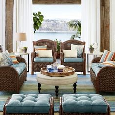 Graduate to new shades of style with our gorgeous, hand-woven wool rugs. Shifting shades of turquoise to gray to sand will contrast beautifully with your neutral upholstered furnishings and lend a coastal chic vibe to your home. But you already knew that, right?
