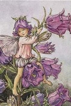 Faeries are most active at Beltane (illustration by Cicely Mary Barker)
