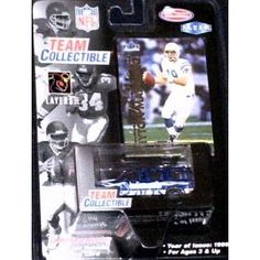 Indianapolis Colts Peyton Manning 1999 White Rose NFL Diecast 1:64 Scale GMC Yukon Truck with Peyton Manning Fleer Card Football Collectible by NFL  $13.00