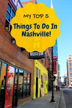 There's so much to see and do in Nashville, even if you're not a country music fan!