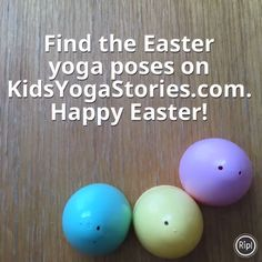 Yoga Game for Kids What to do with all those plastic eggs? Turn them into an Easter Yoga Game with your kiddos! Kids Yoga StoriesWhat to do with all those plastic eggs? Turn them into an Easter Yoga Game with your kiddos! Learn Yoga, How To Start Yoga, Yoga Games, Basic Yoga Poses, Yoga Movement, Yoga Books, Yoga Lessons, Love Fitness, Morning Yoga