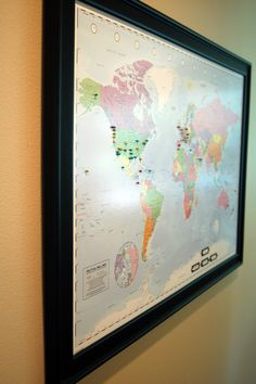 pin your travels....Pin your travels on this personalized world map. Flag where you have been and where you would like to go.