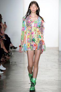 ISSA LISH for JEREMY SCOTT, New York Fashion Week SS '15.