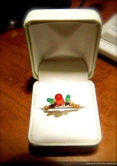 Electrical Engineer Wedding Ring