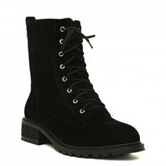 $17.23 Stylish Women's Martin Boots With Stitching and Lace-Up Design