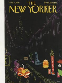 The New Yorker - Saturday, February 7, 1959 - Issue # 1773 - Vol. 34 - N° 51 - Cover by : Robert Kraus
