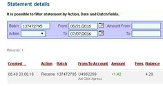 AdClikXpress Withdrawal Proof no 54! I am getting paid daily at ACX and here is proof of my latest withdrawal. This is not a scam and I love making money online with Ad Click Xpress. Here is my Withdrawal Proof from AdClickXpress. I get paid daily and I can withdraw daily.