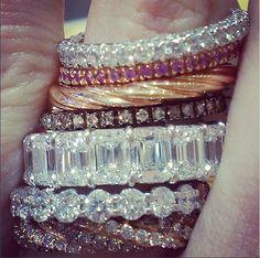 #Diamond #weddingbands on #traditionaljewelers #instagram