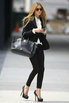 Olivia Palermo  #streetstyle #fashion #moda #look #looks #modaderua #style #oliviapalermo