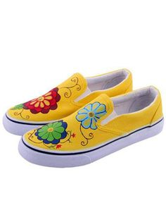 869 Best Painted Shoe Ideas images | Painted shoes, Hand
