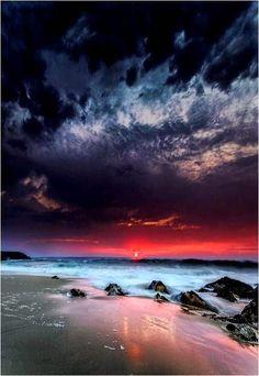 Sunset Shore Tides