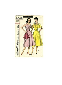 Simplicity 2042 Swing Style Rockabilly by AdeleBeeAnnPatterns, $10.00