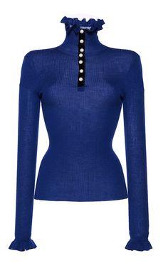 Merino Wool Ruffle Knit Turtleneck by PHILOSOPHY DI LORENZO SERAFINI for  Preorder on Moda Operandi Merino ca95866ec8b1