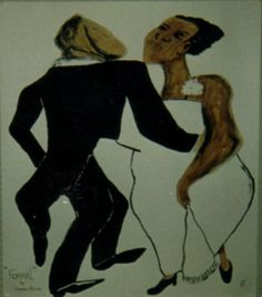 Art done in 1998 commission for African Art. Media used was watercolor paint.