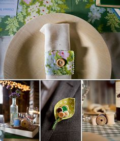 diy button crafts for the home
