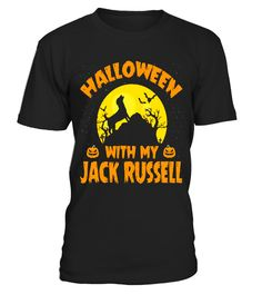 """# Halloween With My Jack Russell T-shirt .  Special Offer, not available in shops      Comes in a variety of styles and colours      Buy yours now before it is too late!      Secured payment via Visa / Mastercard / Amex / PayPal      How to place an order            Choose the model from the drop-down menu      Click on """"Buy it now""""      Choose the size and the quantity      Add your delivery address and bank details      And that's it!      Tags:"""