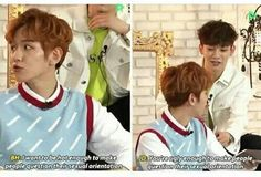 Chen.... that's not nice. Funny but not nice