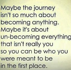 The journey ♡