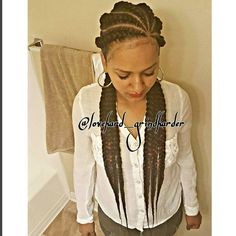 #Frontview  AGES 13 AND UP ONLY, SAME PRICES AS ADULTS...INFO IN MY BIO FOR APPTS #GlamourBraids  last 2 to 3 weeks #painless No Heat #beautiful #perfection  #braiddesigns #braids #LaBraider #LBBraider #bestbraider No Sprits or Flakes #Braider Guaranteed  #protectivestyles  hair added throughout the entire braid #neat  #cornrows #cute #Lovedoinhair #talent #giftedhands  follow up  #flawless #GlamourBraids #lannygrindharder happy clients ALWAYS!!! #longbeachCalifornia #cr...