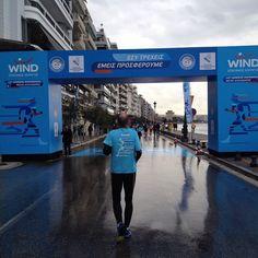 Near the finish