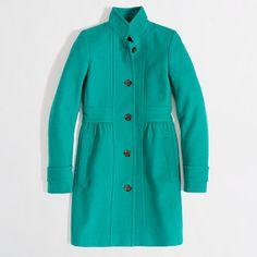 my new jcrew coat - so excited!!