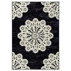 Teppich Lace in Grau Hanse HomeHanse Home - Rugs Magazine Teal Rug, Gold Rug, Grey And White Rug, Dark Grey Rug, Black Rug, Blue Outdoor Rug, Outdoor Rugs, Machine Made Rugs, Jute