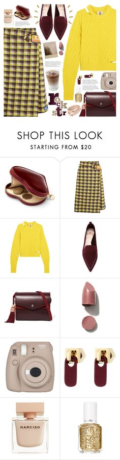 """rock star"" by valentino-lover ❤ liked on Polyvore featuring Aspinal of London, Prada, Topshop Unique, Nicholas Kirkwood, Elizabeth and James, Fujifilm, Marc by Marc Jacobs, Narciso Rodriguez, Essie and Tory Burch"