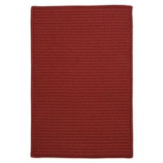 Charlton Home Glasgow Red Area Rug Rug Size:
