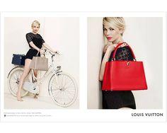 Campañas hot: Las famosas protagonizan la moda Michelle Williams vuelve como la embajadora de Louis Vuitton