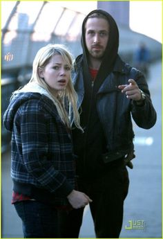 """The most romantic thriller of Ryan Gosling's the """"Blue Valentine"""" had greatly hiked the box office. As almost, Ryan Gosling's cross front jacket in the movie has achieved famed among stylish outwear."""