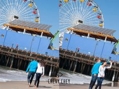 California Family Session ~ Santa Monica Pier ~ Chevy Chey Photography ~ North Texas Photographer