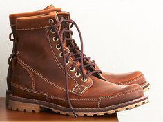 Timberland Earthkeepers Original Leather 6-Inch Boot ($180) On the weekend you need a boot to wear around the house or while running errands. You'll have to resole these after a few years of tough love, but they look better with each additional scuff.