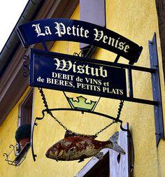 Débit de vins et de bières, petits plats … Colmar, Haut-Rhin (Alsace)