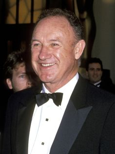 Gene Hackman at the 61st Annual Academy Awards in Los Angeles on March 29, 1989