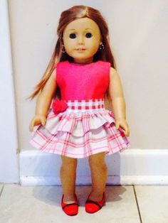 Creative Mama on a Dime: American Girl Doll Party Dress Pattern