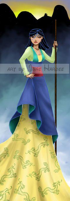 Mulan by June Hardee [©2009-2014 JunebugHardee]