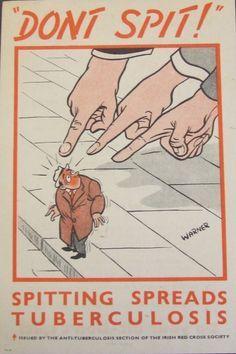 Tuberculosis public health signs. Enlarge: pinterest.com/pin/287386019946793963