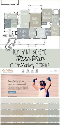 Do you struggle with choosing paint colors for your home? Do you have trouble visualizing what different colors will look like in your home? Creating a floor plan with the colors you are considerin...