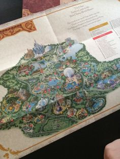 creating custom disney maps walt disney world