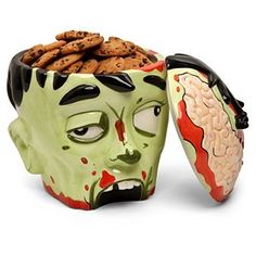 Zombie Cookie jar......for Sam and Eliza