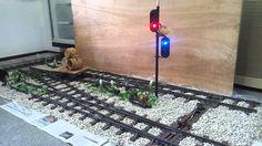 5インチゲージ鉄道自動分岐器&信号機