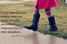 Embrace responsibility via The Risky Kids - so much good stuff here. @Angie Six {just like the number}